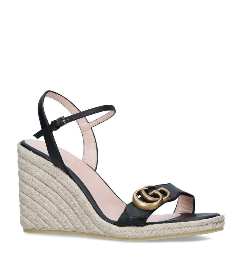 Gucci Aitana Wedge Sandals 85