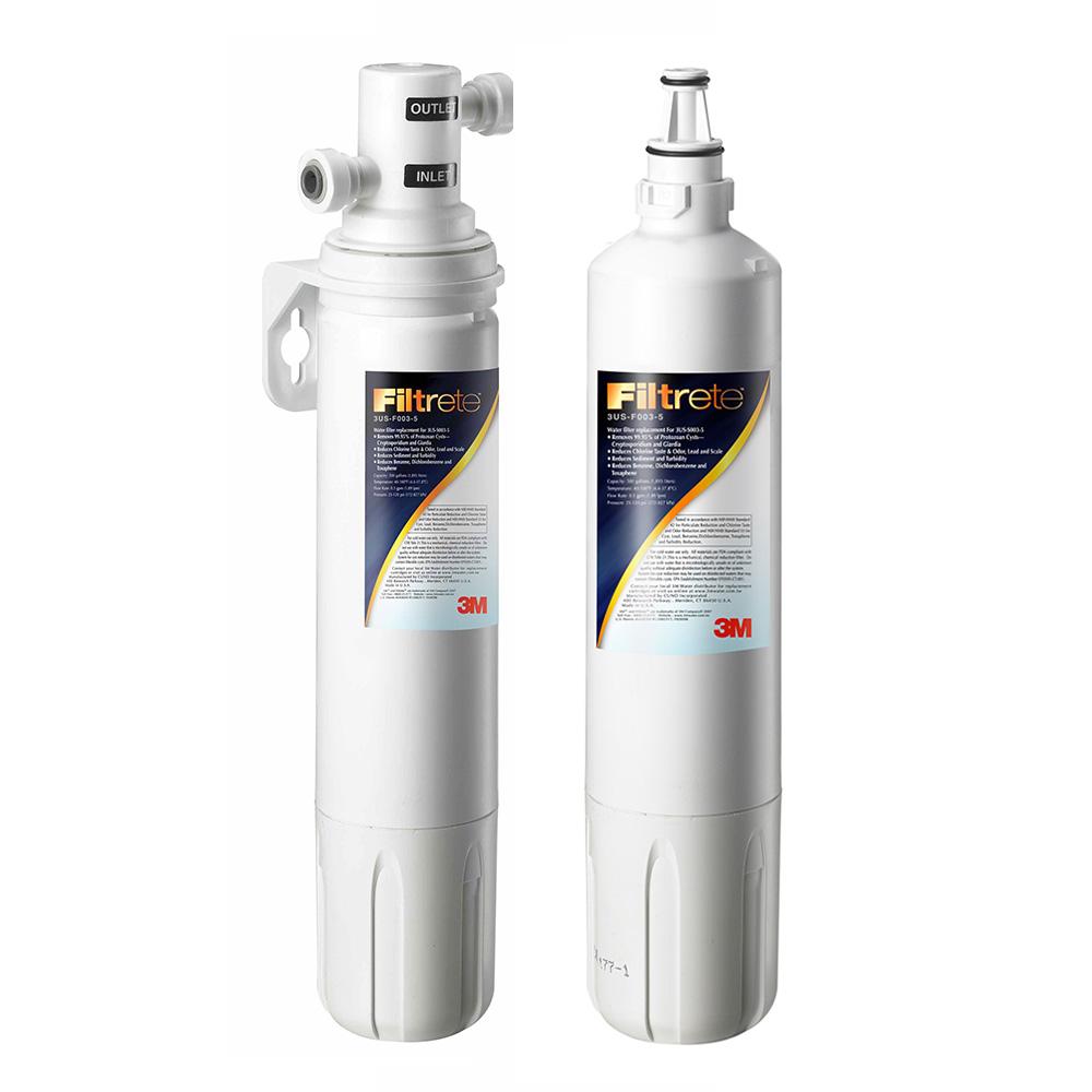 【生飲標準】3M 極淨便捷系列淨水器 S003 特惠組(加贈一支濾心)