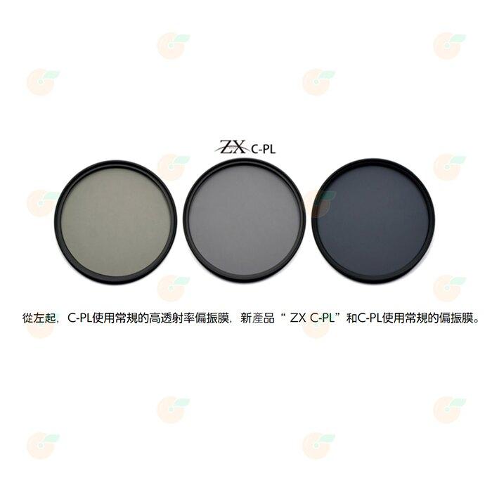 日本製 Kenko ZX CPL 67mm 高清解析偏光鏡 4K 8K 超解像力濾鏡 鍍膜 防潑水油污 正成公司貨