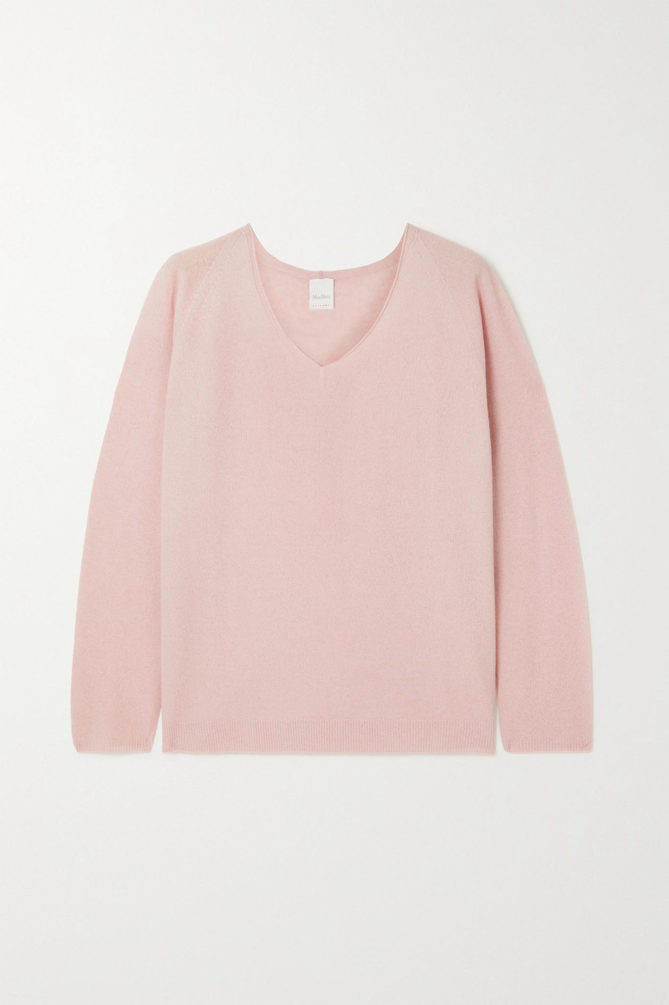MAX MARA - + Leisure Smirne Knitted Sweater - Pink - medium