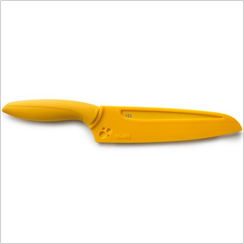 《IBILI》不沾鋸齒麵包刀(橘15cm)