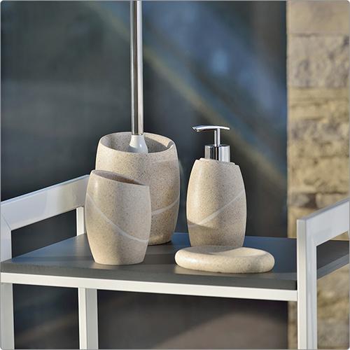 《KELA》仿石洗手乳罐(棕300ml)