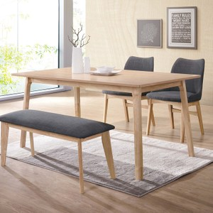 邦妮實木凳(布)(不含餐桌、餐椅)