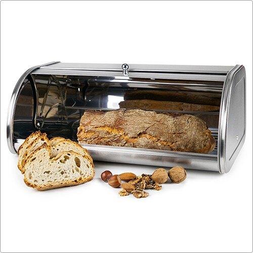 《IBILI》不鏽鋼掀蓋式麵包盒(M)