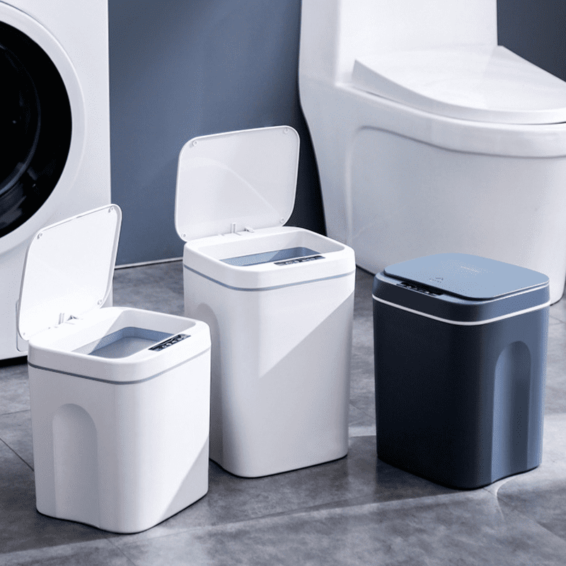現代風感應式垃圾桶