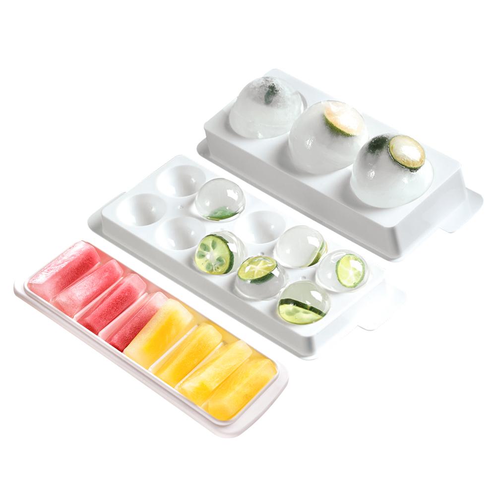 小久保 附蓋製冰盒 日本製 長方形 圓形 冰球 圓型冰塊盒 製冰器 製冰盒 製冰模具 冰塊盒 小冰球 冰條 大冰球 冰盒 冰塊模具 KOKUBO 餐廚用品 夏天用品