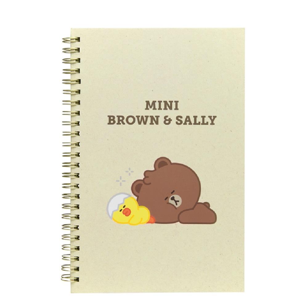 熊大&莎莉 線圈筆記本(MINI系列)