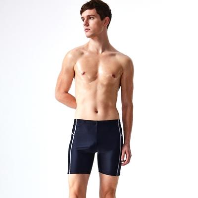 沙兒斯 泳裝 側邊對稱紋飾五分男泳褲