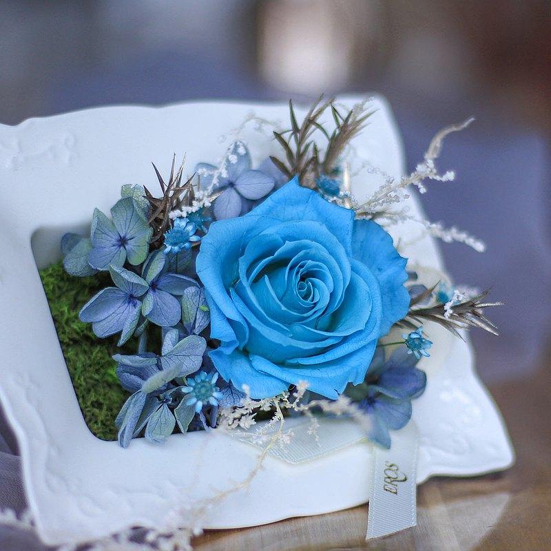 【一人成團】創意桌花擺飾 永生花盆花 手作療癒小物課程 台中