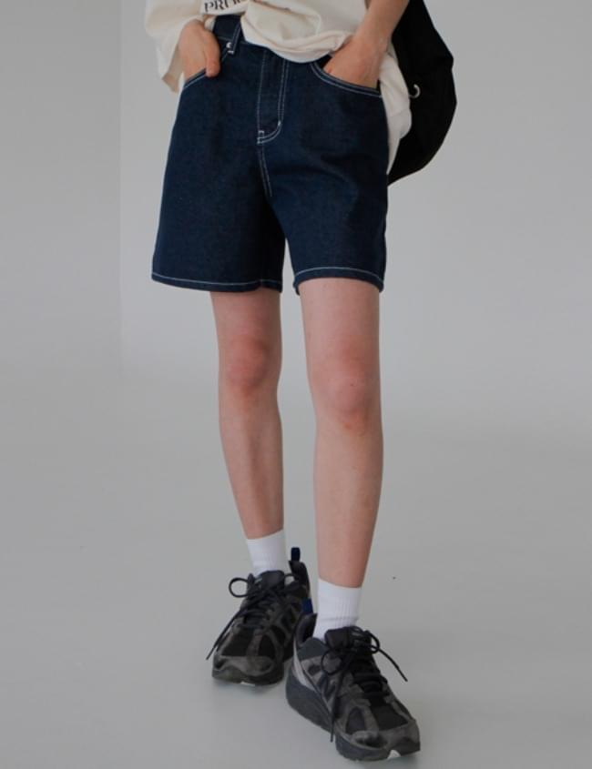 韓國空運 - Non- Faded Raw shorts 短褲