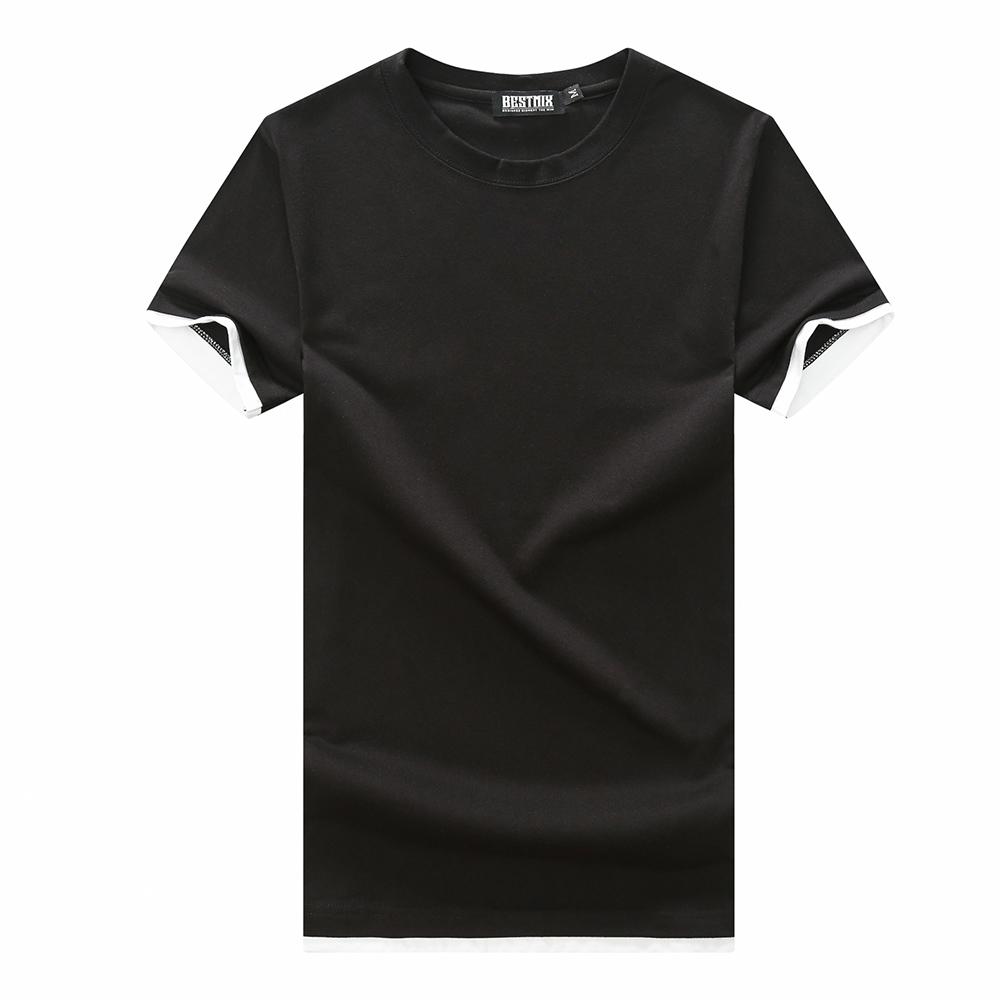 現貨在台 MIT 台灣製造 假兩件設計短袖T恤  男款 女款【QJFJ8716】