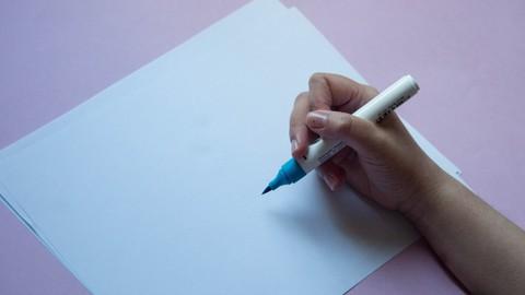 Lettering para niveles iniciales/intermedios.