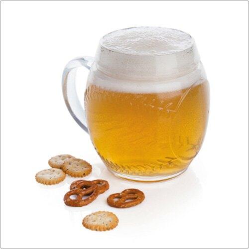 《EXCELSA》Sport造型啤酒杯(棒球650ml)