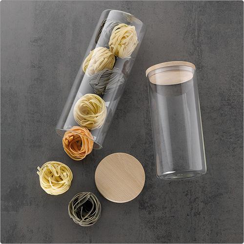 《KELA》木蓋玻璃密封罐(1.5L)