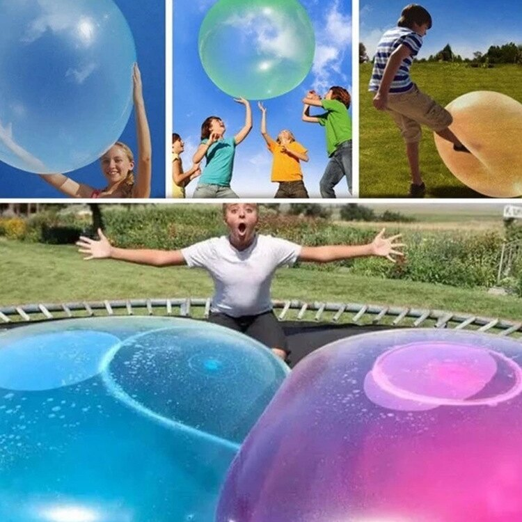 Wubble bubble ball超大充氣球 彈力球 戶外玩具遊戲 TPR兒童玩具彈力球注水球