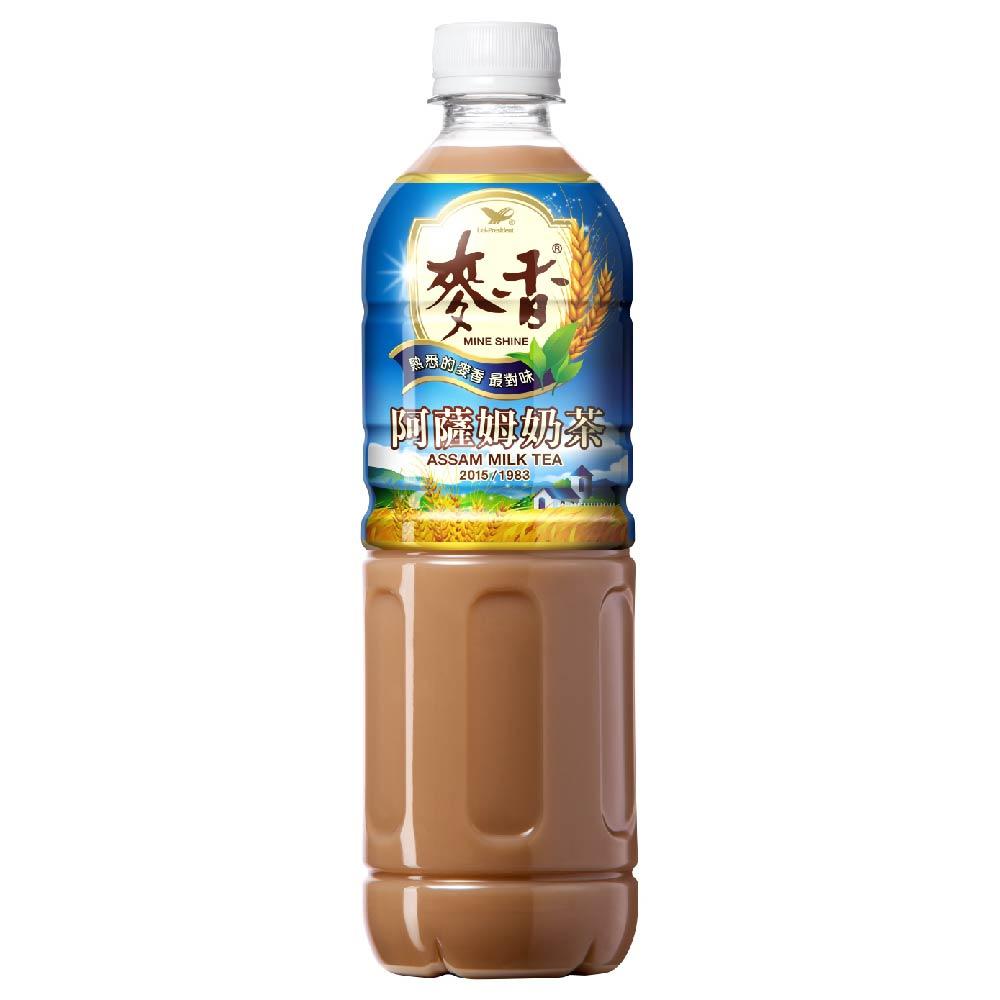 點數15%★食品飲料滿千–麥香阿薩姆奶茶PET600 x24入團購組