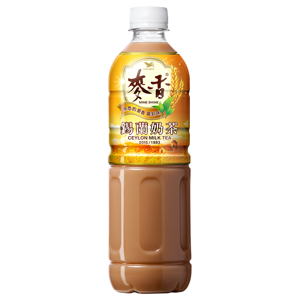 點數15%★食品飲料滿千–麥香錫蘭奶茶 PET600mL x24入團購組