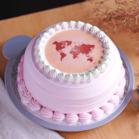 【限門市自取】相片蛋糕 (6吋)