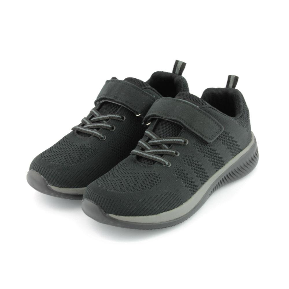 ARRIBA艾樂跑男鞋-針織運動鞋-黑(FA537)