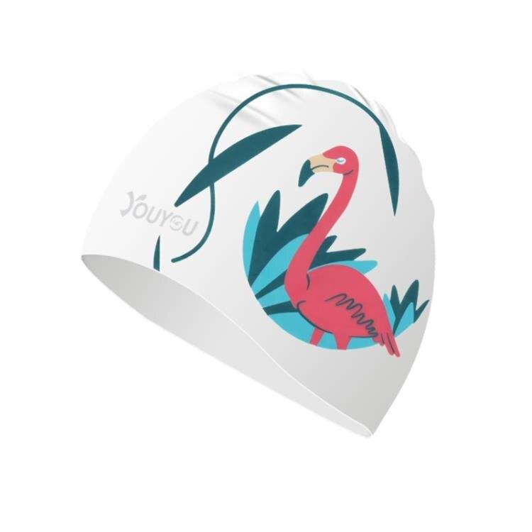 佑游新款時尚硅膠泳帽男女長發游泳帽防水舒適專業不勒頭游泳帽子   果果輕時尚