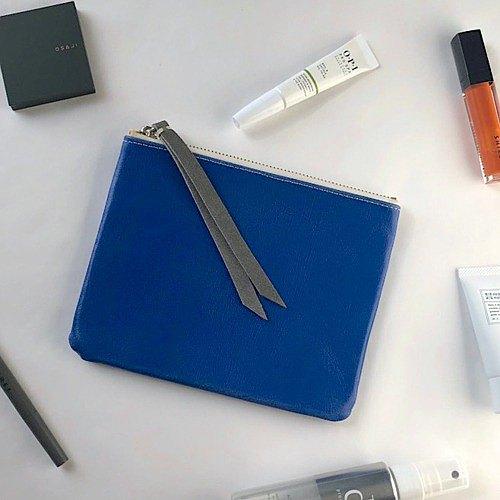 不帶扣板的小袋推薦用於聖誕禮物可以通過長拉力輕鬆打開的皮革小袋方型中號小袋