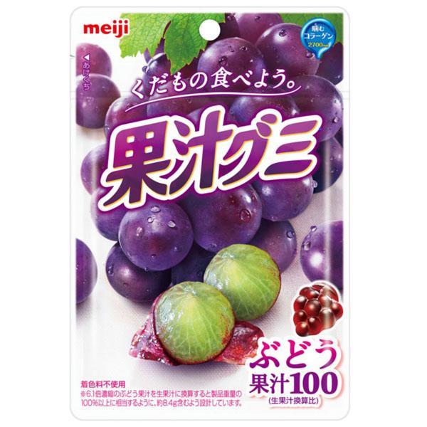 meiji明治果汁QQ軟糖-葡萄