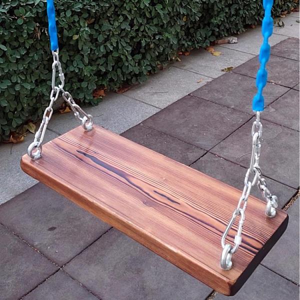 鞦韆 鐵鏈實木鞦韆坐板戶外家用木板庭院兒童鞦韆板蕩鞦韆【風之海】