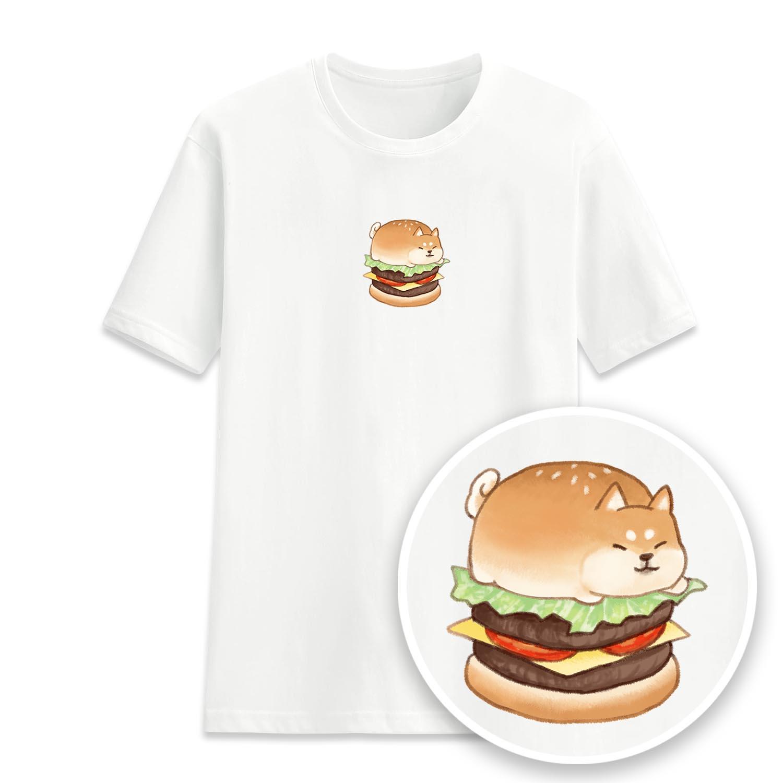 漢堡柴柴短袖衫-GT263