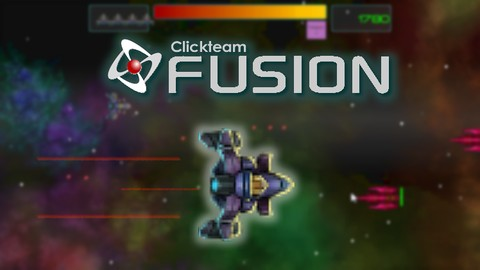 Build a Space Shooter game in Clickteam Fusion 2.5