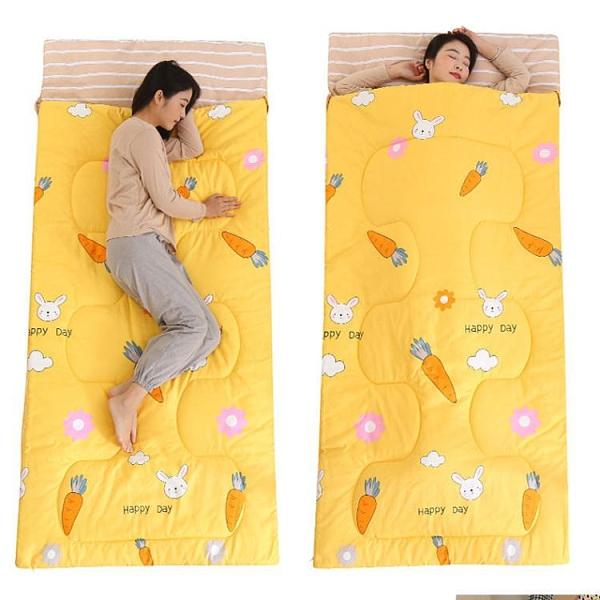 睡袋 睡袋成人便攜式單人夏季兒童防踢被宿舍午休睡袋旅游必備神器