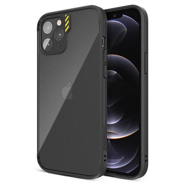 JTLEGEND iPhone 12/iPhone 12 Pro Hybrid Cushion DX 超軍規防摔殼 - 黑