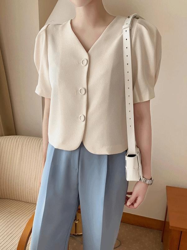 韓國空運 - Delight Puff Jacket 襯衫