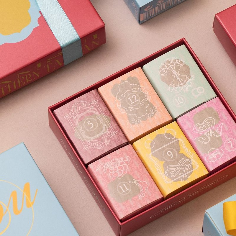 潤澤香氛皂禮盒【六入禮 | 香氣自由搭】