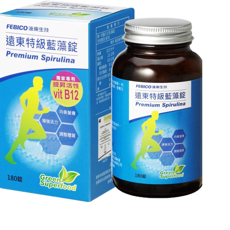 點數15%★醫美保健滿2千–遠東生技特級藍藻(180錠) 【康是美】