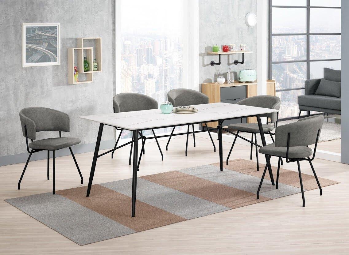 【尚品傢俱】CM-987-1 蘿克斯6尺岩板餐桌