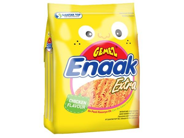 韓國 Enaak~韓式小雞麵-雞汁味(袋裝30gx3包)【D003080】點心麵