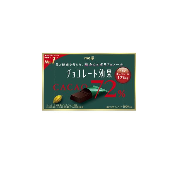 點數15%★食品飲料滿千–meiji明治CACAO72%黑巧克力(盒裝) 【康是美】