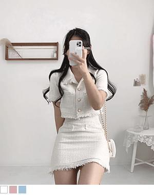 韓國空運 - Handy Tweed Two Piece 套裝