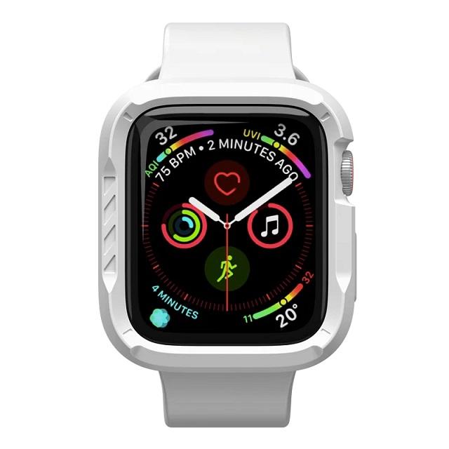 JTLEGEND Apple Watch Series 6/5/4/SE (44mm) ShockRim 防摔保護殼-石白