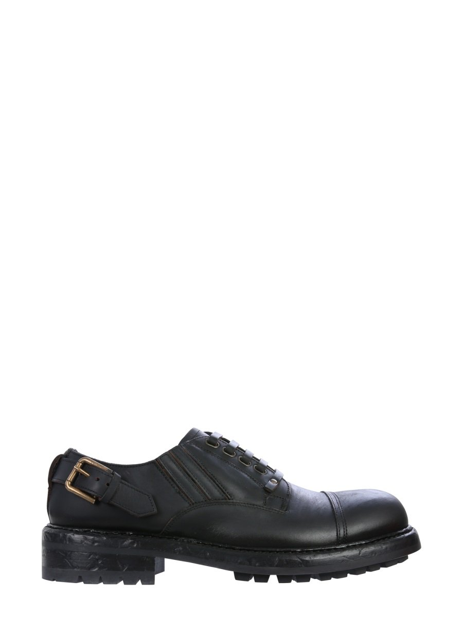 DERBY SHOE WITH LACES