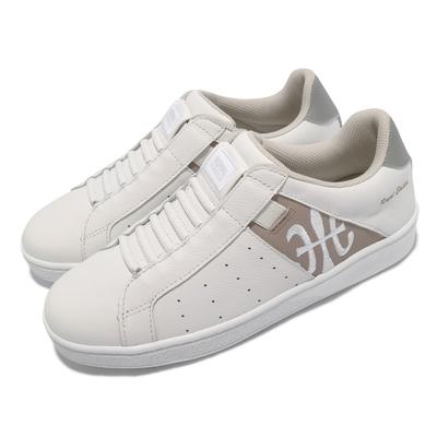 Royal Elastics 休閒鞋 Icon 基本款 女鞋 皮革鞋面 舒適 簡約 質感 穿搭 白 棕 91912078