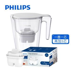 Philips飛利浦濾水壺3.4L(無計時器)+AWP211*1濾心組