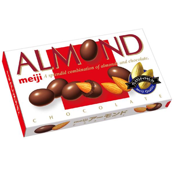 點數15%★食品飲料滿千–meiji明治杏仁巧克力 【康是美】