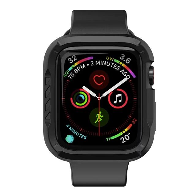 JTLEGEND Apple Watch Series 6/5/4/SE (44mm) ShockRim 防摔保護殼-石墨黑