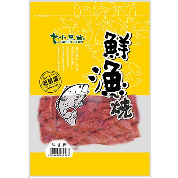 點數15%★食品飲料滿千–小豆苗鮮漁燒-紅吉棒100g 【康是美】