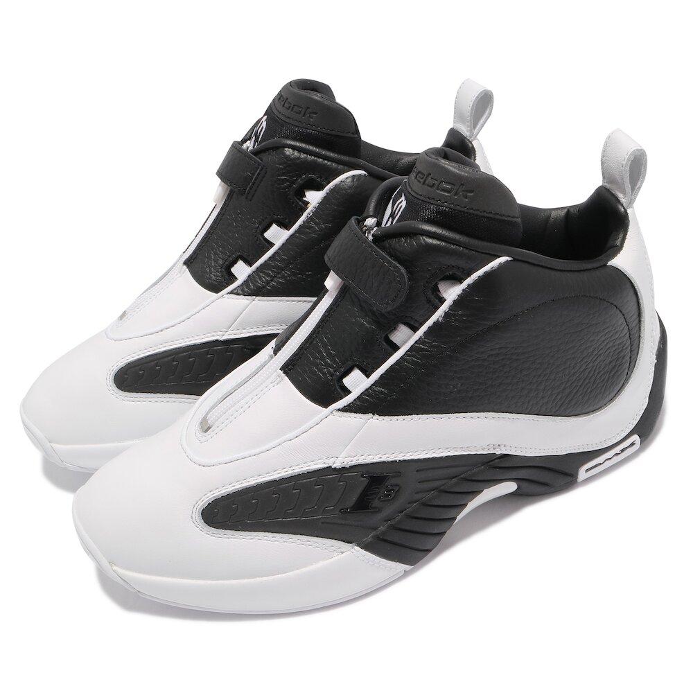 REEBOK 籃球鞋 Answer IV 運動 男鞋 明星款 避震 包覆 舒適 穿搭 白 黑 [FY9691]