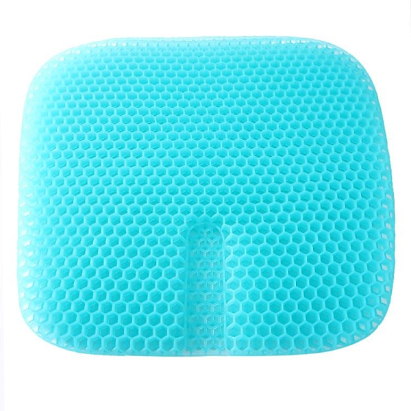 Xeon正品日本蜂窩凝膠坐墊車用夏季汽車座墊加大加厚透氣冰墊涼墊 {快速出貨}
