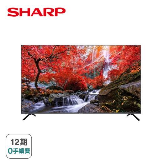 【SHARP】65型4K Android TV 顯示器(4T-C65CJ1T)