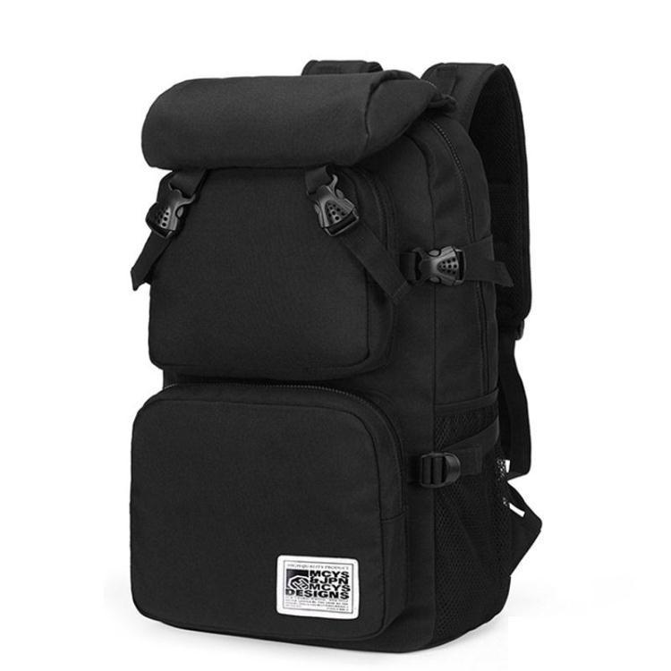 休閒雙肩包男士旅行包旅游背包高中學生女生書包登山包/可開超取