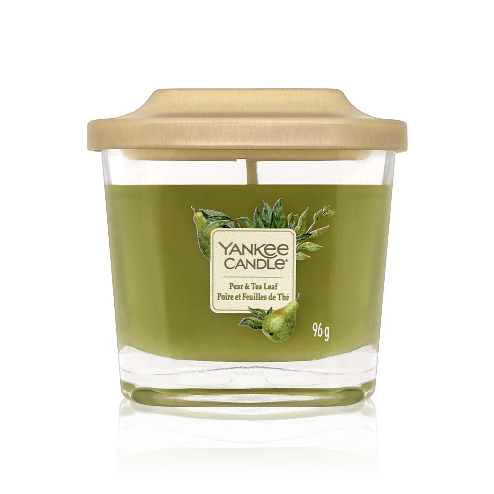 Yankee Candles 瓶中燭-梨和茶葉(方杯) 96g